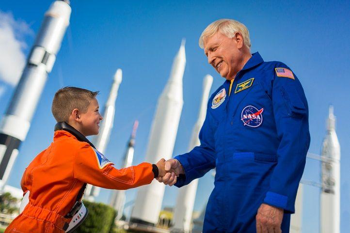 Kennedy astronaut meeting