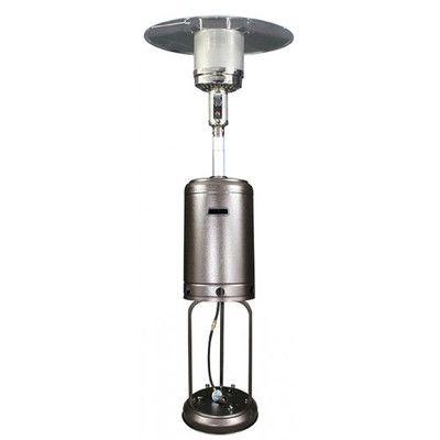 us stove homcomfort round mushroom electric patio heater finish