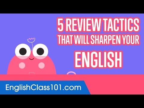 18 5 Review Tactics That Will Sharpen Your English Youtube Learning Spanish Learn Persian Spanish Lessons