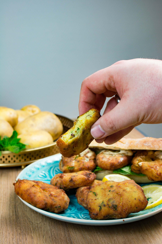 Rezept: Maaqouda - Marrokanische Kartoffelplätzchen - gernekochen.de ...