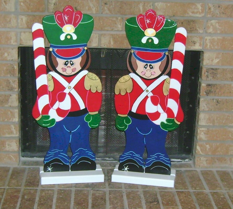 toy soldiers christmas outdoor ornaments
