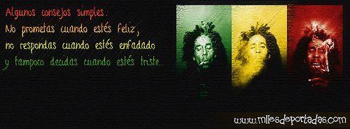Portadas Para Facebook Bob Marley Frases Portadas Para