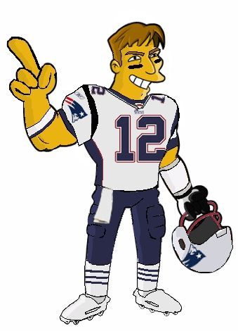d10df41100a Tom Brady on Simpson's Cartoon and Super Bowl Taco Dip Recipe #tombrady  #newenglandpatriots