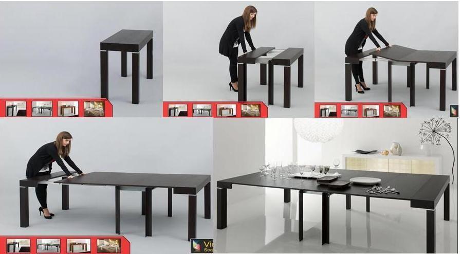 Riflessi, tavolo/consolle P 300 | Tavoli, sedie e sgabelli ...