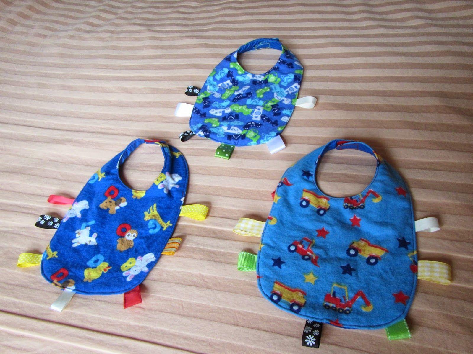Tammy's Craft Emporium: Baby bib tutorial - a quick easy baby gift.