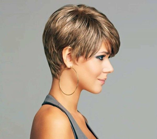 Short Hairstyles For Everyday Life Or Even For A Special Occasion Short Hairstyles For Thick Hair Thick Hair Styles Short Hairstyles 2015