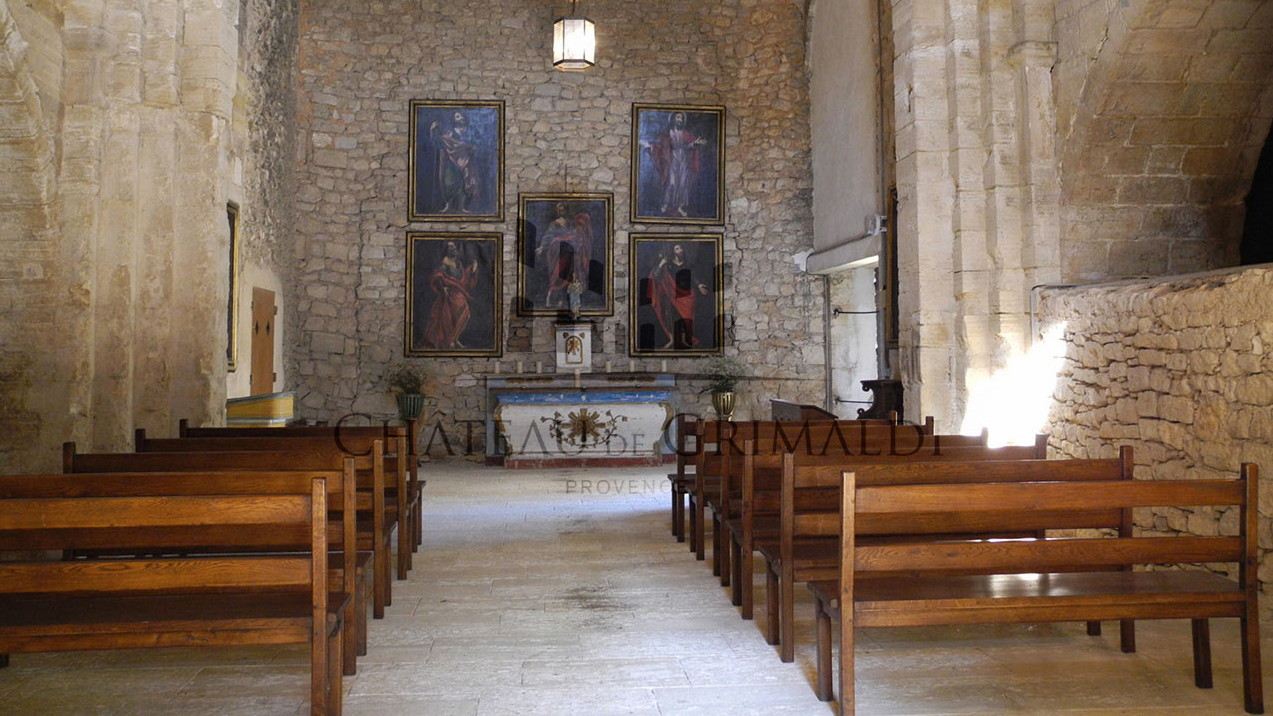 The old chapel is frequently the location for religious events and small, private concerts.‪#‎holidays‬ ‪#‎aix‬ ‪#‎provence‬ ‪#‎castle‬ ‪#‎rent‬ ‪#‎france‬ ‪#‎luxury‬