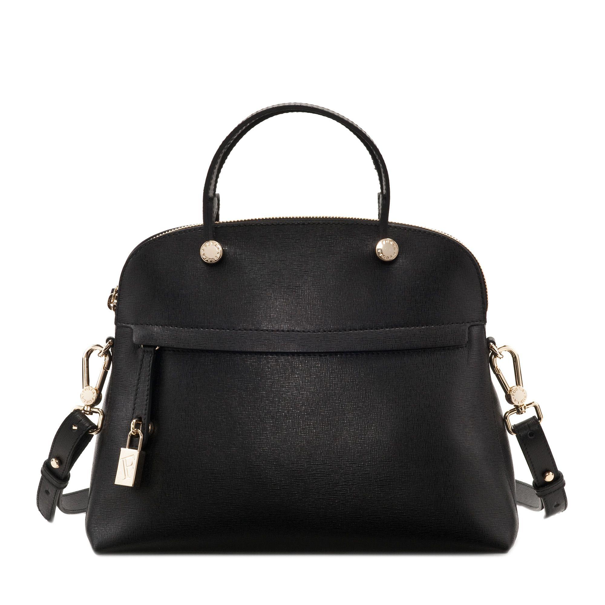 Furla Bag Piper Tote - Black Summer 2013 Collection