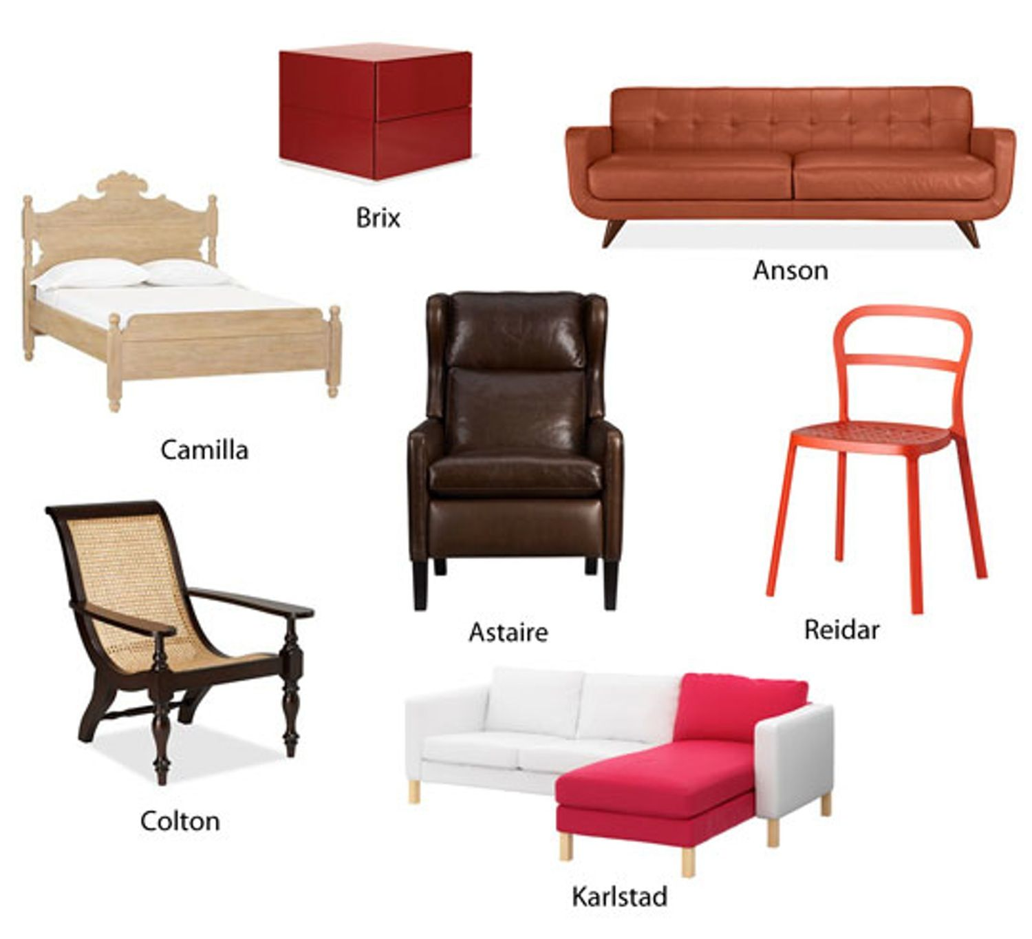 Bedroom furniture names - How Retailers Give Names To Furniture