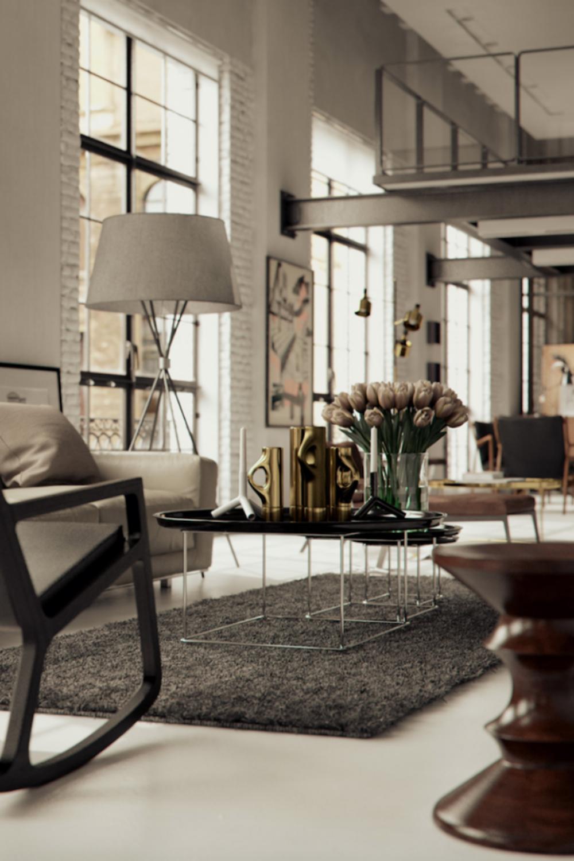 Urban Modern Interior Loft Interiors Loft Interior Design Loft Design