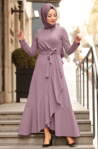 Genc Tesettur Abiye Modelleri Tesettur Elbise Modelleri 2020 The Dress Elbise Giyim