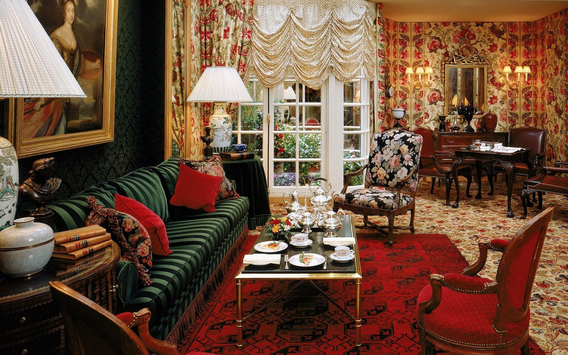 Salon-hotel-San-Regis-Paris | COLORFUL FAMILY ROOMS | Pinterest ...