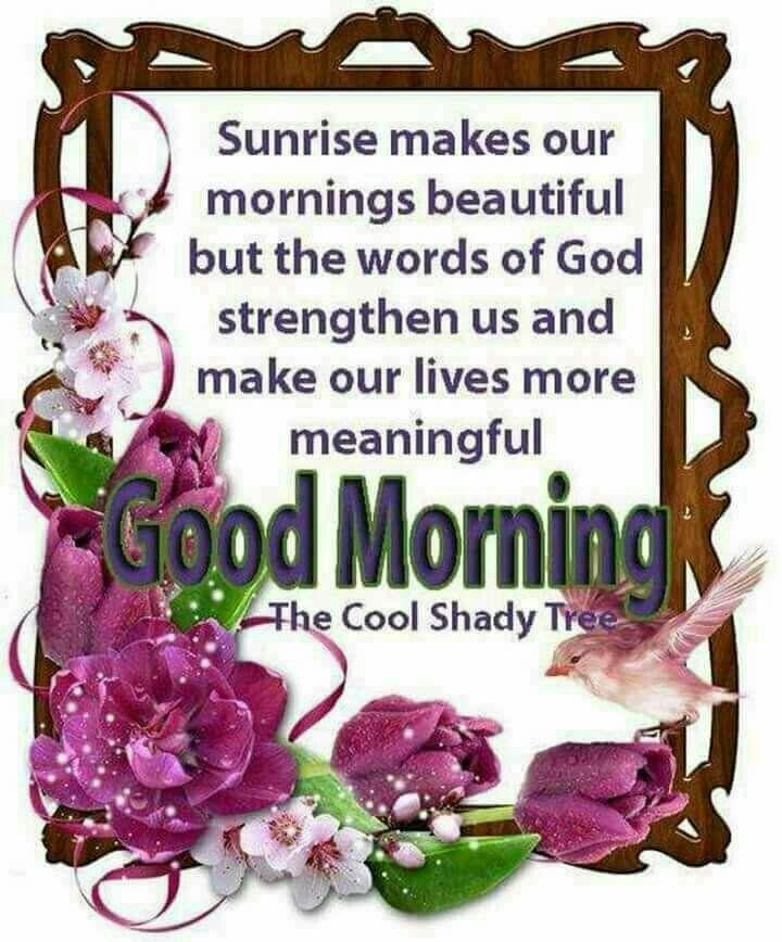 Good Morning Spiritual Inspirations   days of the week