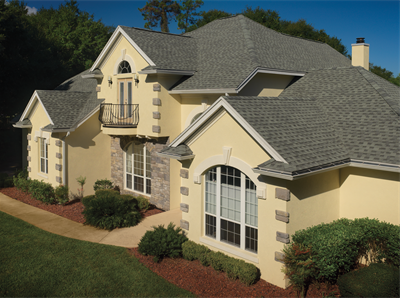 Best Roofing Shingles Gaf Timberline Ultra Hd Slate House 400 x 300