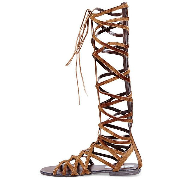 7bc4440220e Steve Madden Women's Hercules Sandals Flats ($100) ❤ liked on ...
