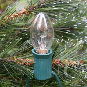 c7 white clear c7 christmas light bulbs