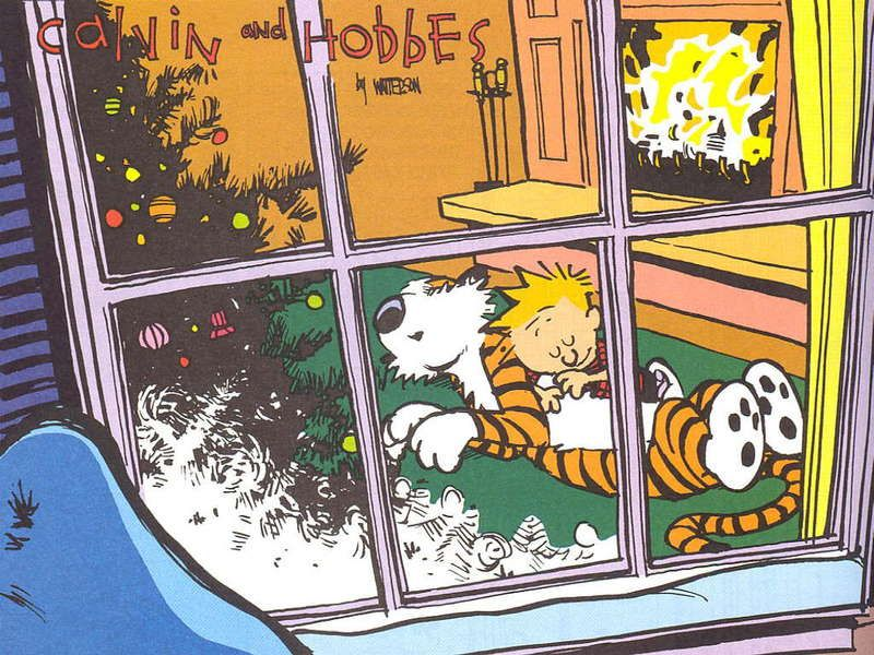 Wallpaper Calvin and Hobbes Bill Watterson Bill Watterson