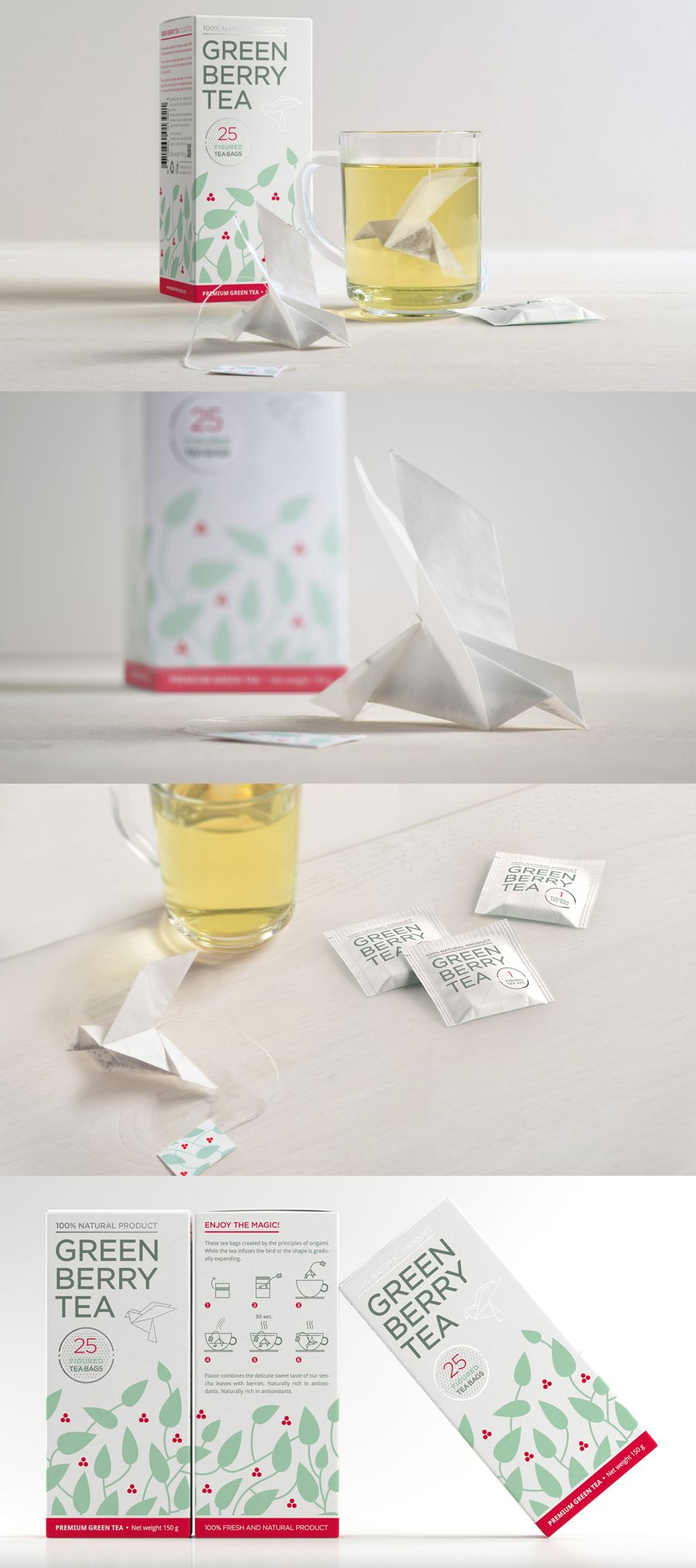 Origami Tea Package C