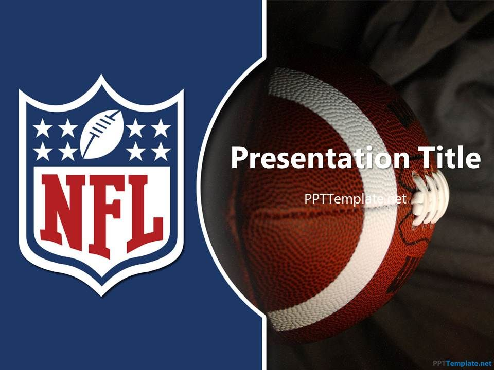 Free Nfl Ppt Template | Nfl | Pinterest | Ppt Template