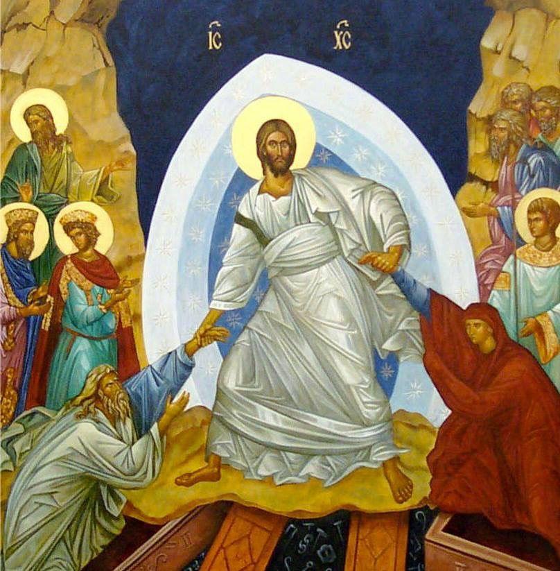 The Resurrection of Christ   Icons   Pinterest   Orthodox ... Russian Resurrection Icon