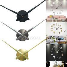Large Silent Quartz DIY Wall Clock Movement Hands Mechanism Repair