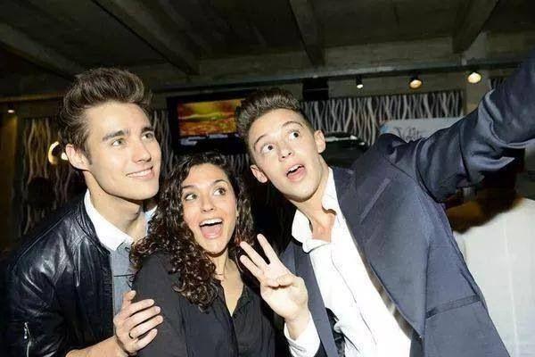 Jorge,Alba y Rugge