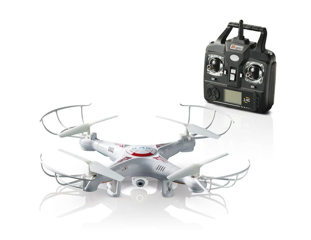 360° X5C 2.4G 4CH RC Explorers Quadcopter 6 Axis Heli Drone w/HD Camera RTF