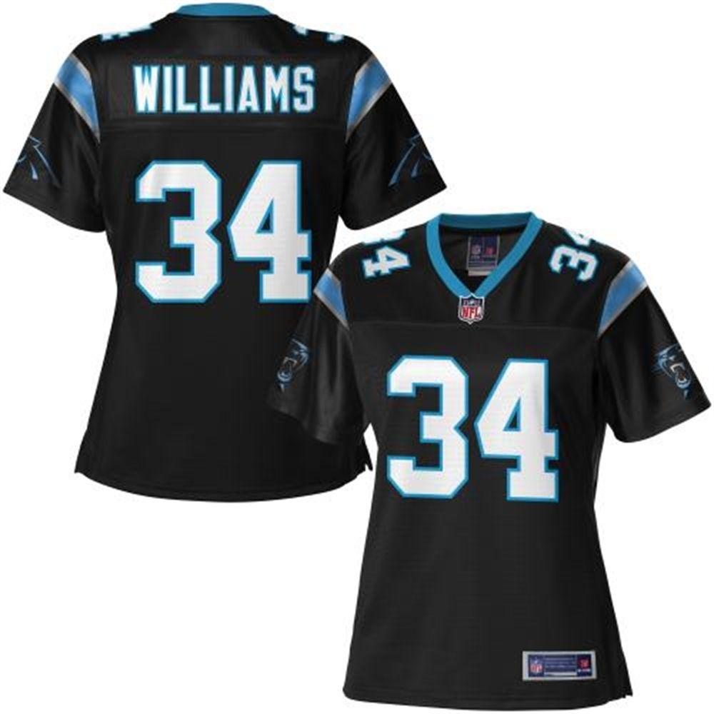 Pro Line Women's Carolina Panthers DeAngelo Williams Team Color ...