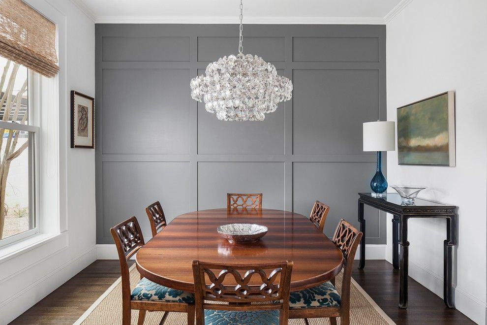 Molding Accent Wall Ideas