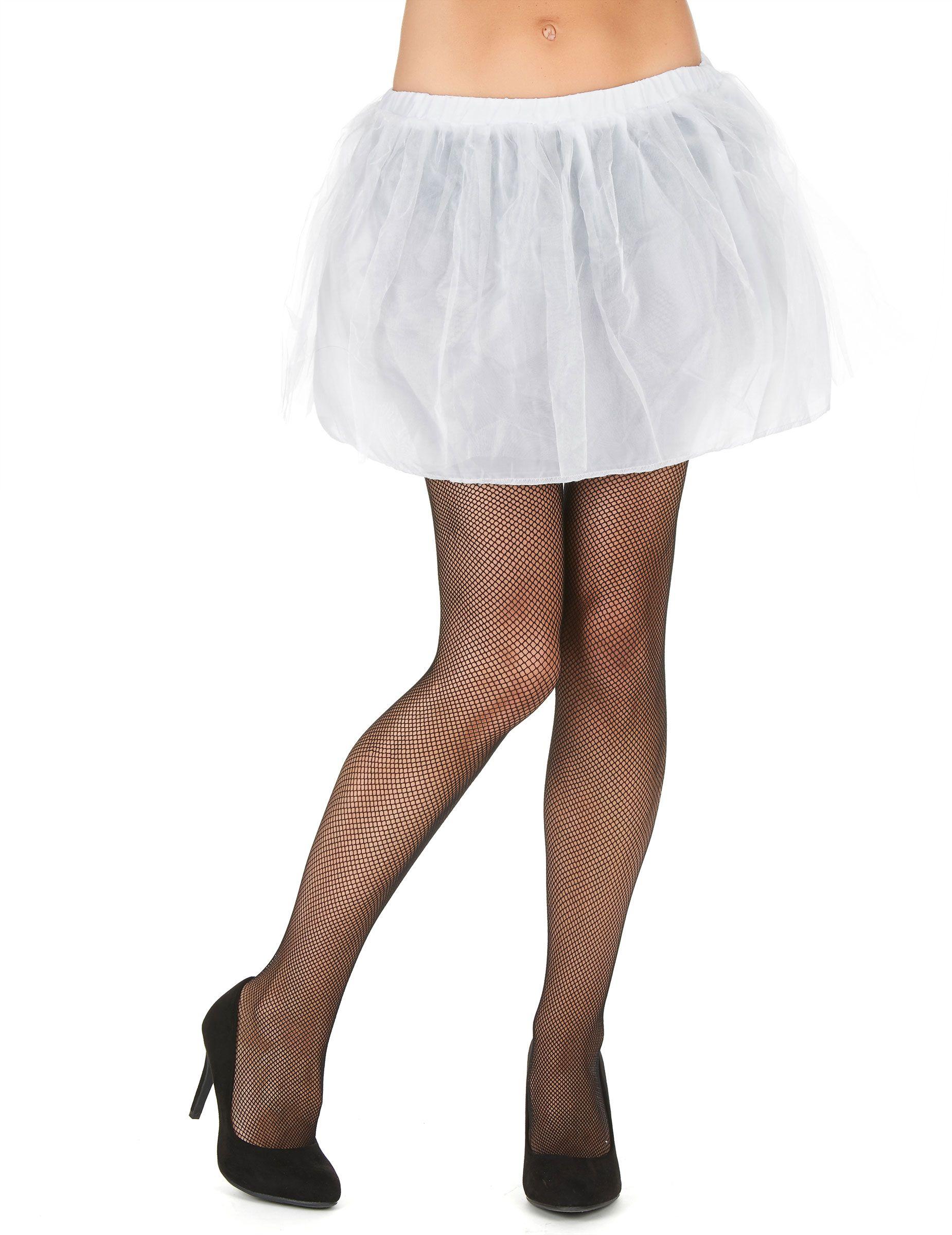 Minirock Mit Tüll Für Damen Petticoat Weiß Dessous Bodies Tutus