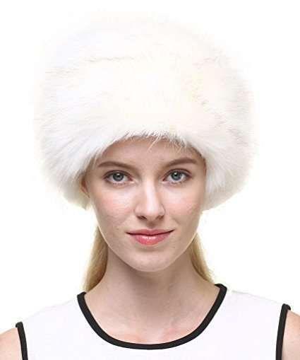 Colbacco bianco in ecopelliccia Vogueearth  673f6a53a80a