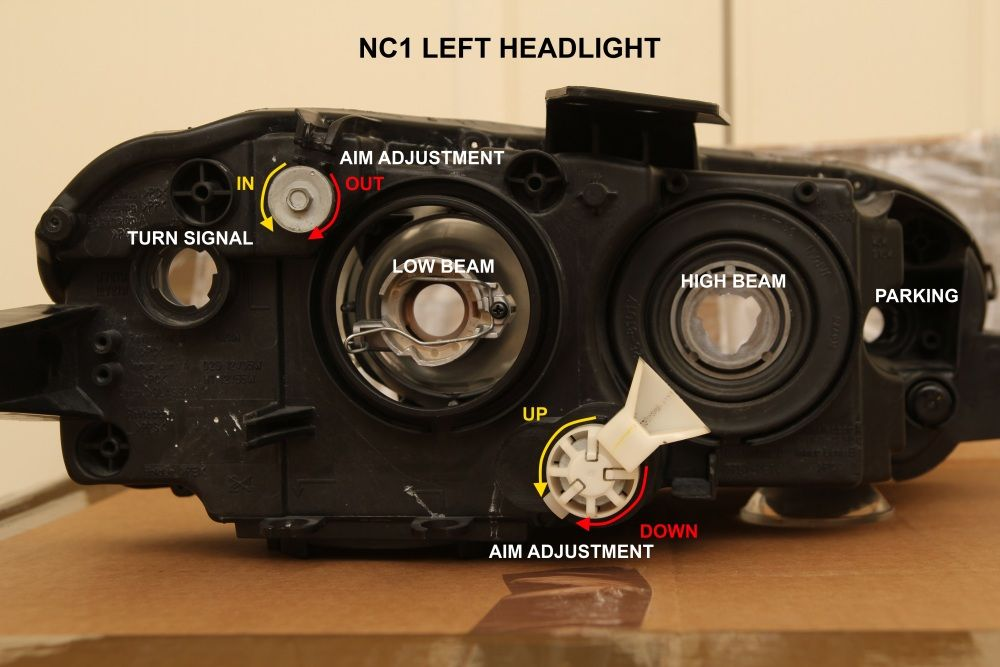 2006 mazda 3 headlight adjustment  Google Search   How to