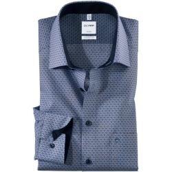 Olymp Luxor Hemd, comfort fit, New Kent, Nougat, 40 Olympolymp