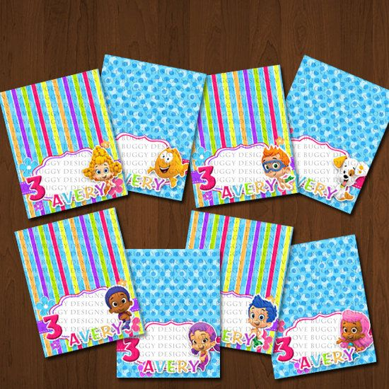 Bubble Guppies Food Tents, Bubble Guppies Food Signs ...