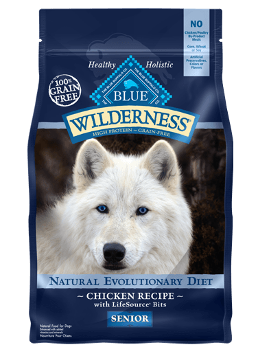Blue Wilderness Dry Dog Food Chicken Recipe Senior Dog Food