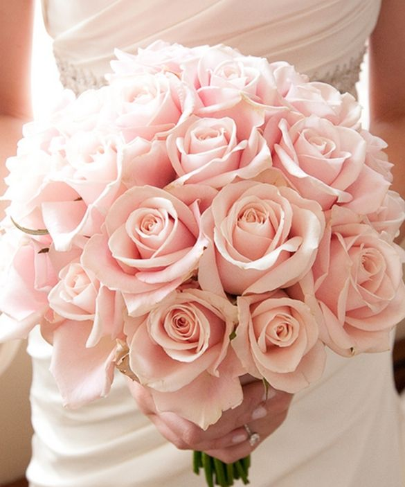 5529411286 4e31ac9a00 B 009 Pink Rose Bouquet Pink Bouquet Wedding