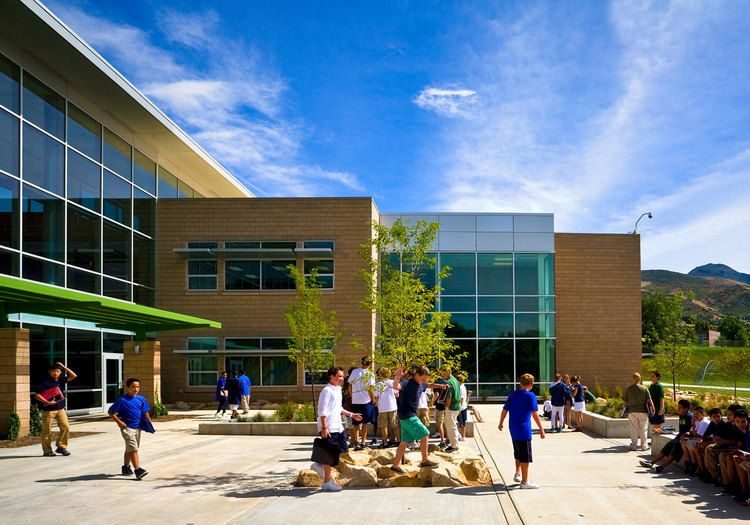 Hillside Middle School schooldesign education