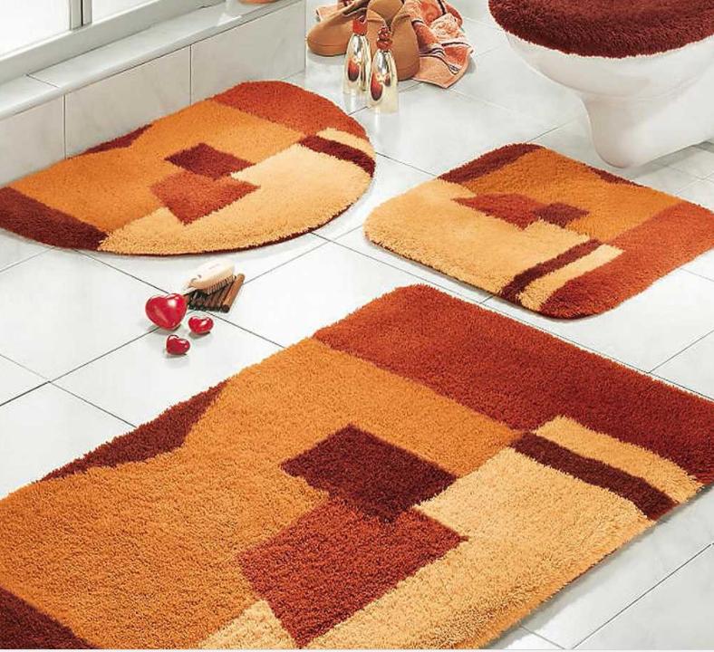 Dekorativne Prostirke Za Kupatilo Balkanski Specijaliteti Bathroom Rug Sets Luxury Bath Rugs Orange Bathroom Rug