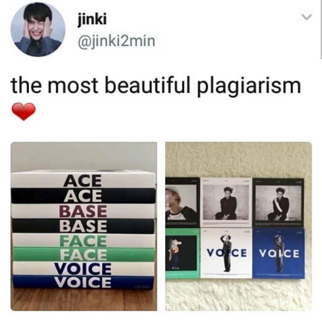 The Only Plagiarism We Support In This Household Shinee Jonghyun Funny Kpop Memes