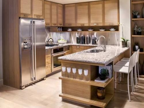 kitchen island design with seating - Google Search Dream Home/Home