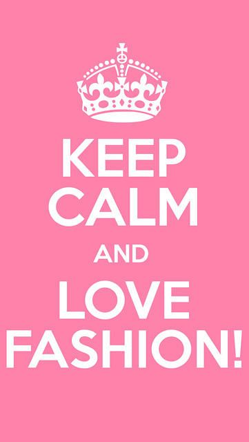 Iphone Wallpaper Pink Keep Calm Love Fashion | Wallpapers
