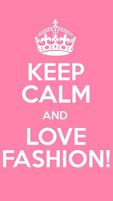 Iphone Wallpaper Pink Keep Calm Love Fashion | Wallpapers | Pinterest