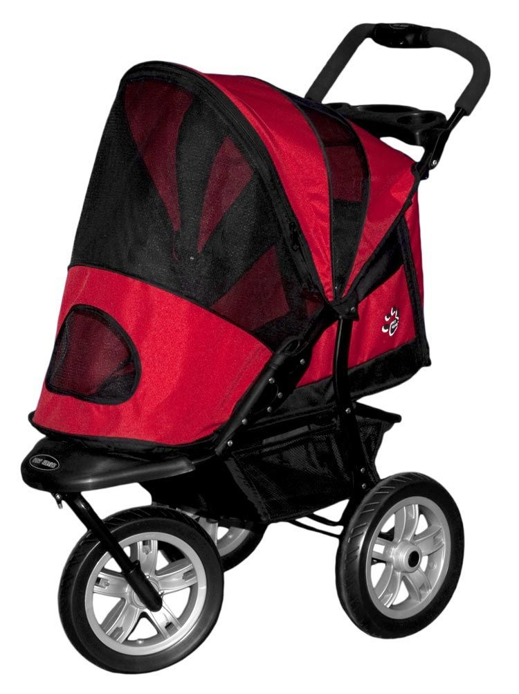 AT3 Generation 2 AllTerrain Pet Stroller Red Poppy by Pet