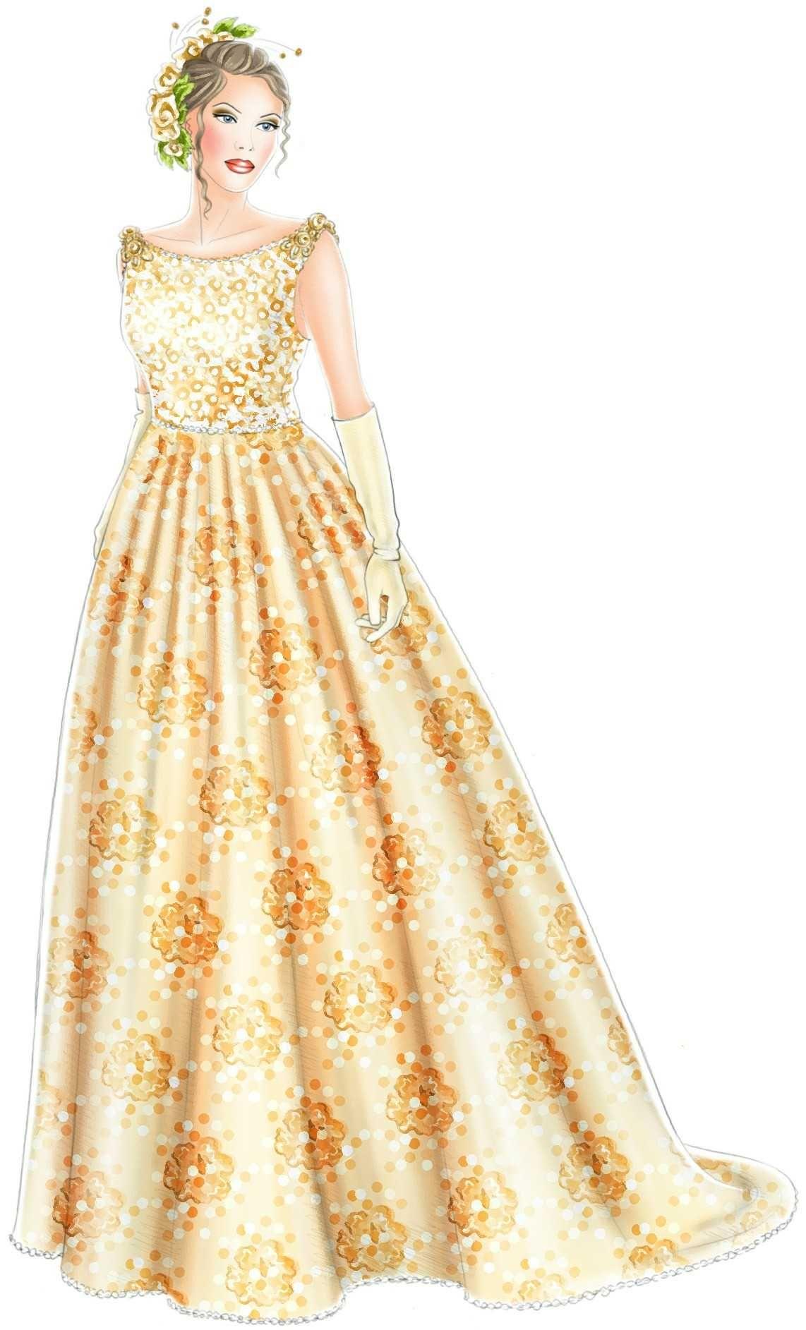 Hochzeitskleid nähen - Brautkleid, Wedding dress | festliche ...