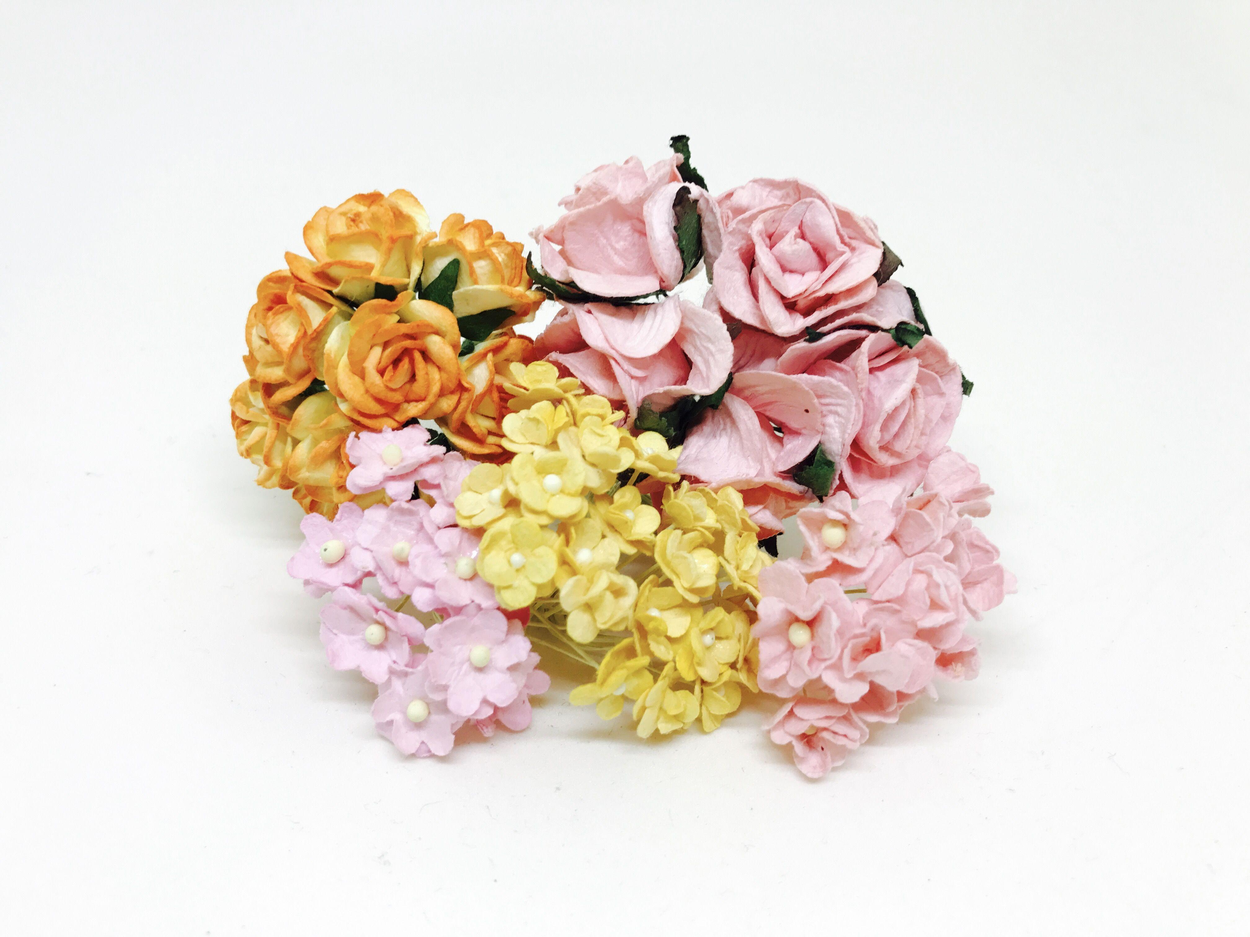 Diy flower crown kit blush pink mulberry paper flowers paper diy flower crown kit blush pink mulberry paper flowers izmirmasajfo Images