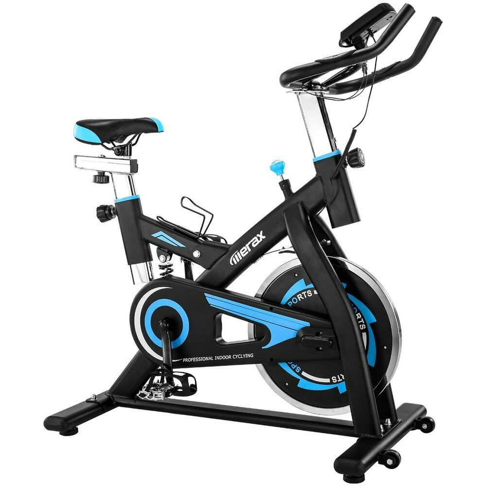 Ad Ebay Blue Bicycle Cycling Fitness Exercise Stationary Bike
