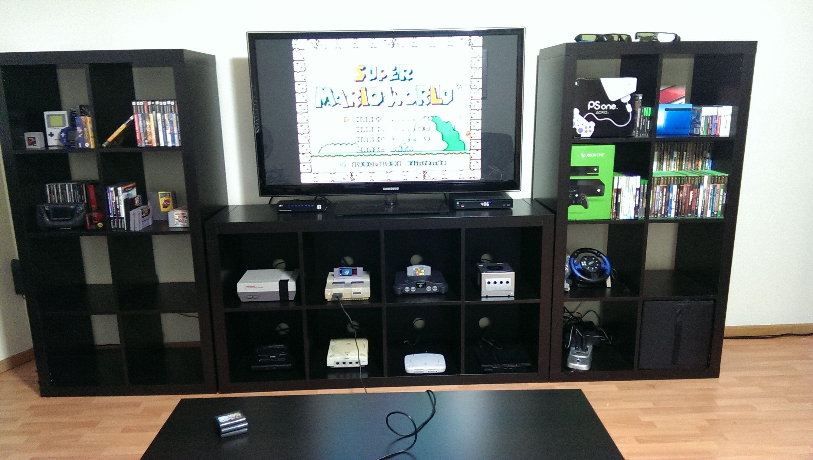 My Retro Game Room Retro Games Room Video Game Rooms Nerd Room