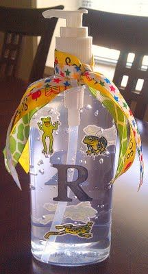 Dollar Tree Soap Dispenser : dollar, dispenser, Dollar, Sanitizer,, Decorated., Teacher, Gifts,, Happy, Birthday, Cousin,