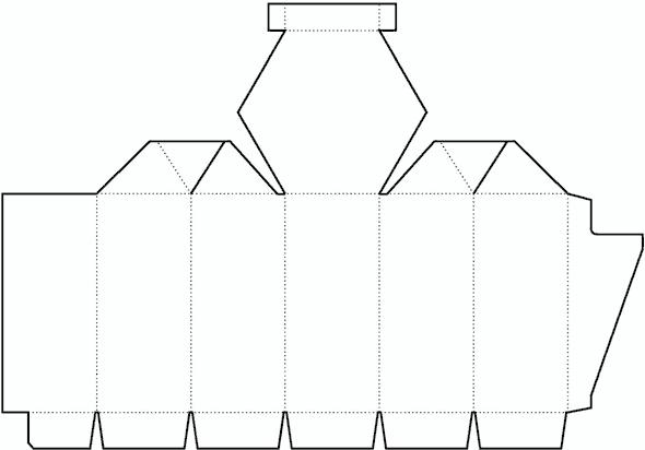 Cylinder Box Template No 01 Free Box Templates Store Paper Box Template Box Template Gift Box Template