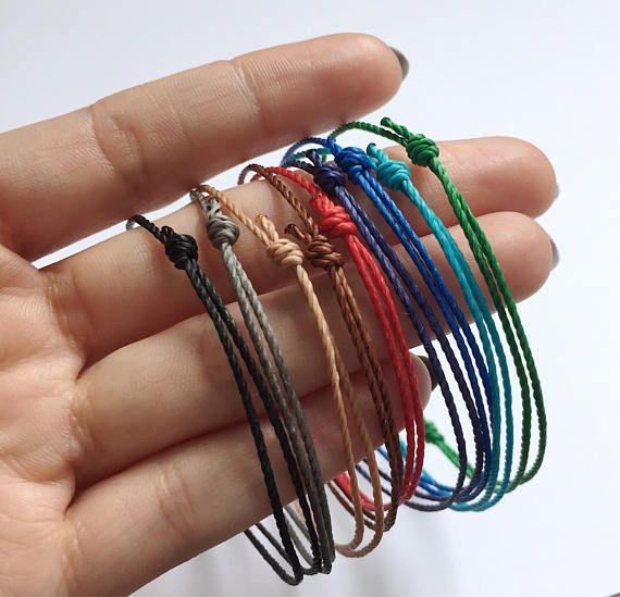 Bracelet Homme Men Vegan String Armband For Collares Pulseras Simples Brazaletes S